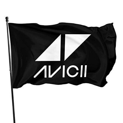 LL-Shop Interessante Avicii Flagge 3x5 Ft Garten Flagge Hof Flagge dekorative Flagge