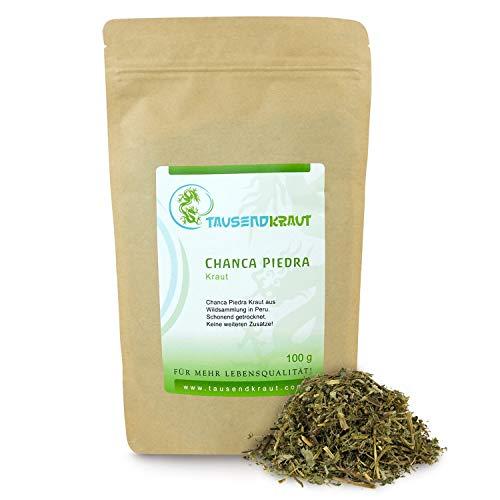 Tausendkraut Premium Chanca Piedra - 100g - Phyllanthus niruri - Hohe Produktsicherheit - Aus nachhaltiger und fairer Wildsammlung in Peru - Natürliches Steinebrecher Kraut