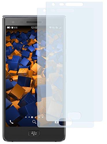 mumbi Schutzfolie kompatibel mit BlackBerry Motion Folie klar, Bildschirmschutzfolie (2X)