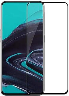شاشة حماية من الزجاج المقوي 5دي لموبايل اوبو رينو 2، اسود