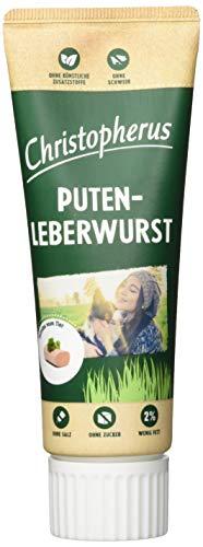 Christopherus Puten-Leberwurst für Hunde, 75 g