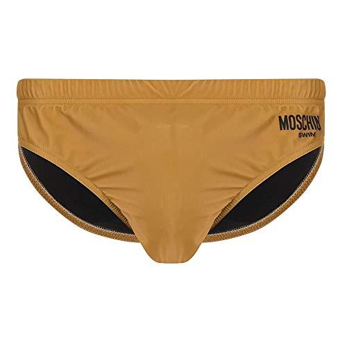Moschino Herren Badehose Slip 3A6107-5955 Braun - XL