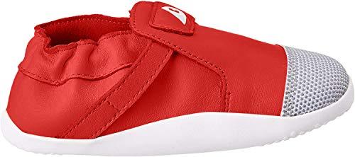 Bobux Unisex-Kinder Xplorer Origin Sneaker, Rot (Red Red), 22 EU