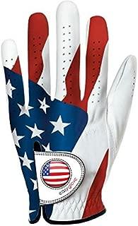 Easy Glove USA Ladies Left Hand Golf Glove With Ball Marker