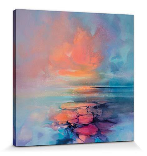 1art1 Scott Naismith - Aria Bilder Leinwand-Bild Auf Keilrahmen   XXL-Wandbild Poster Kunstdruck Als Leinwandbild 40 x 40 cm