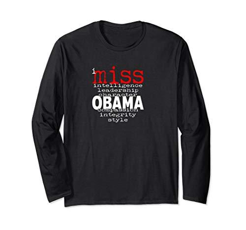 I Miss Obama, Barack Obama