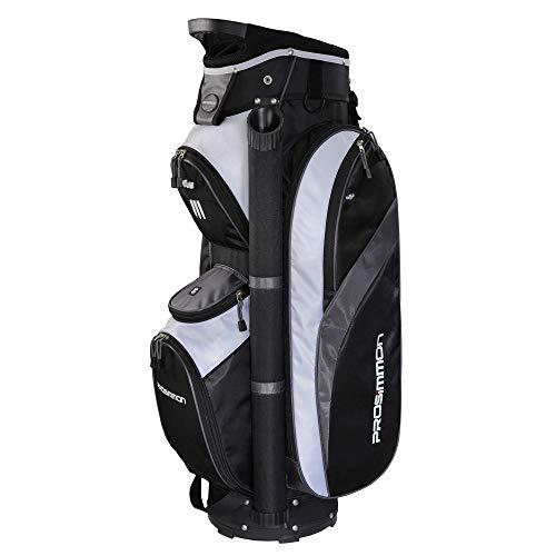 PROSiMMON Tour 14 Way Cart Golf Bag Black/Grey