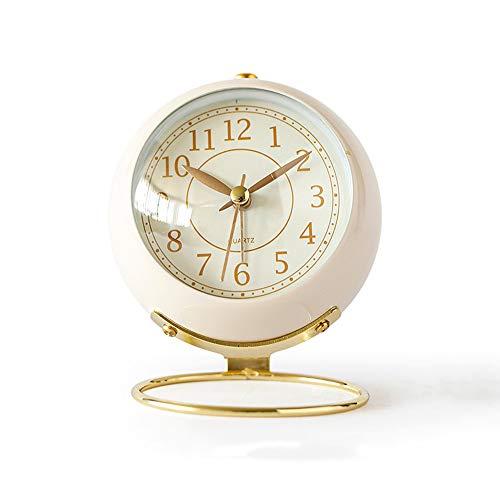 Iamagie Reloj de Mesa silencioso, sin tictac, Reloj Desperta