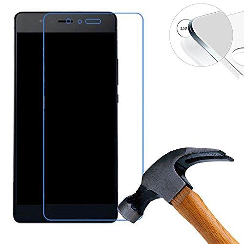 Lusee 2 Stück Schutzfolie für Huawei P9 Lite Mini 5.0 [9H Festigkeit] Bildschirmschutzfolie HD Schutzfolie [Anti Kratzer] [Anti Fingerabdruck] 2.5D Panzerfolie für Huawei P9 Lite Mini 5.0