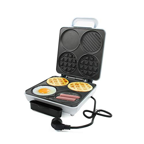 JYDQB Cafetera eléctrica Dorayaki Pastel Desayuno Hornear Máquina Tortilla de huevo Cooker Grill Pan Sandwich Tostadora Horno hamburguesa