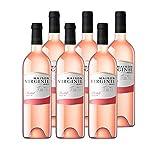 Maison Virginie - Merlot - IGP Pays d'Oc - Vin Rosé - Millésime 2019 - lot de 6 bouteilles x 75cl
