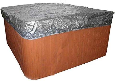 220*220cm Hot Tub Spa Cover Cap Waterproof Protector Fabric Anti-UV 215*215cm
