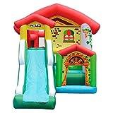 WJSW Hüpfburgen Sport Spielzeug Kinder Indoor aufblasbare Burg Outdoor aufblasbare Rutsche Indoor...