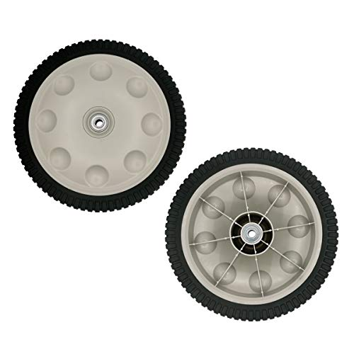 Cancanle 2 Pack Rear Wheel Replacement for MTD Troy- Bilt 734-04019 734-04127 12 X 2.125 S-Wave Lawn Mower