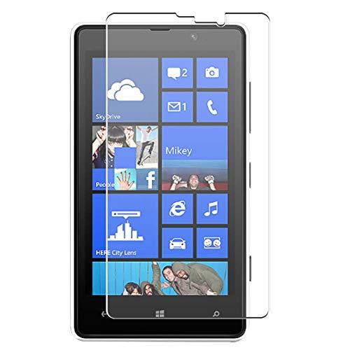 Vaxson 4-Pack TPU Pellicola Protettiva, compatibile con NOKIA Lumia 820, Screen Protector Film [Non Vetro Temperato Cover Custodia ]