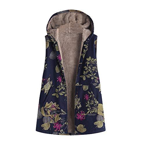 Luckycat Chalecos Abrigos Mujer Invierno Chaqueta Abrigo Jersey Grande Hoodie Sudadera con Capucha Mujer Caliente Y Esponjoso Top