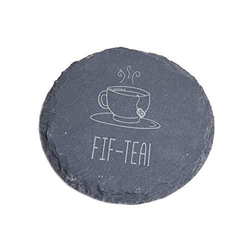 Untersetzer für Fif-Tea (Schiefer Untersetzer)