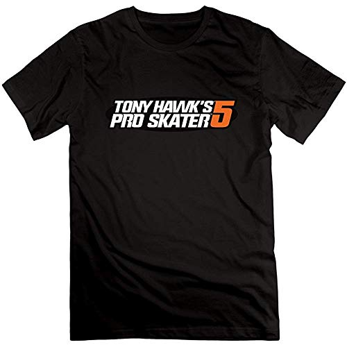 DAE hkvbukhnkgf Tony Hawk'S Pro Skater 5 ? Very 100% Cotton T Shirt For Mens (Size:L