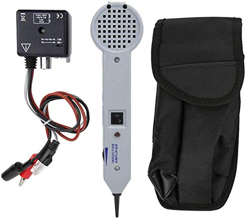 Wire Tracer Circuit Tester 200EP High Accuracy Cable Tone Generator Inductive Amplifier and Probe Kit with Adjustable Volume
