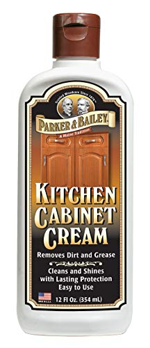 Parker & Bailey 580412 Kitchen Cabinet Cream 12 oz. bottle, 12 Ounce, White