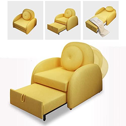 VBARV Sofá Infantil Plegable, sillones tapizados para niños, 3 Engranajes Ajustables, cojín de látex, Ligero, Apto para niños y niñas de 3 a 8 años
