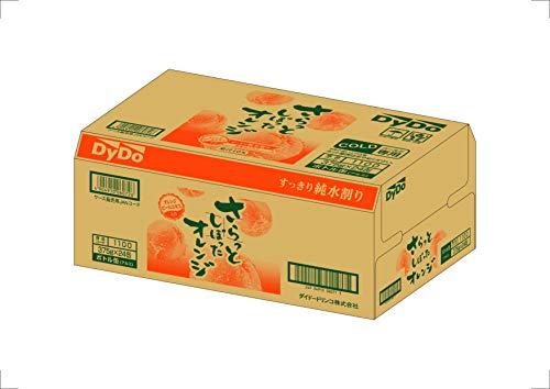 ダイドードリンコさらっとしぼったオレンジ375g×24本