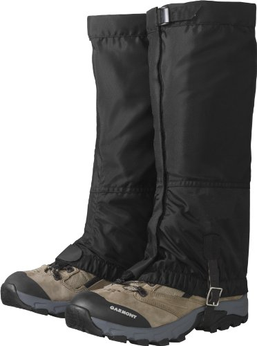 Outdoor Research Women's Rocky MTN High Gaiters, Black, M