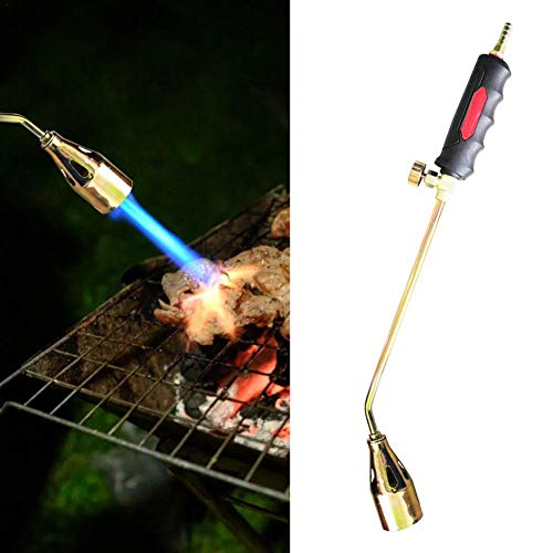 Best Deals! Propane Torch Weed Burner Portable Propane Heating Torch Ice Snow Melter with Hose, LPG ...