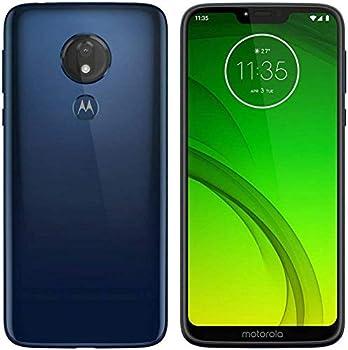 Motorola MOTO G7 Power - GSM Unlocked 32GB Android Smartphone - Marine Blue  Renewed