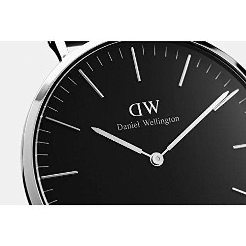 『CLASSIC BLACK新品Daniel Wellington ダニエル ウェリントン レディース腕時計 クラッシー 本革 腕時計 ピンクゴールド 36mm [並行輸入品]』の1枚目の画像