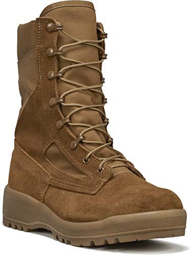 B Belleville Arm Your Feet Men's C390 Hot Weather Combat Boot, Coyote - 8 W