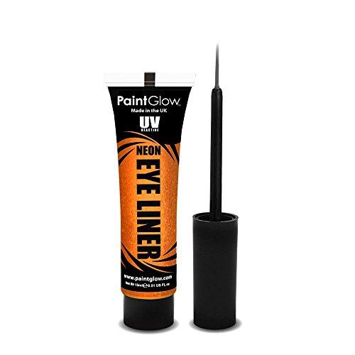 PaintGlow NEON Eye liner Oranje