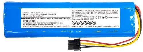 Synergy Digital Vacuum Cleaner Battery, Compatible with Xiaomi R