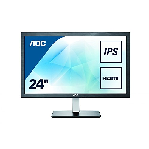 AOC i2476VWM 59,9 cm (23,6 Zoll) Monitor (VGA, 2xHDMI, 1920 x 1080, 60 Hz) schwarz