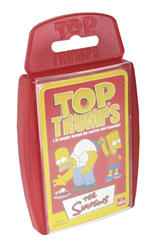 Simpsons - Top Trumps, Juego de Mesa (Goliath 70651)