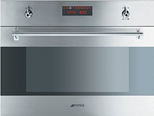 """Price comparison product image SU45MCX 24"""" Stainless Steel Built-In Speed Oven With 10 Cooking Functions 1000W Microwave Digital LED display Ergonomic Control Knobs Child Safe Control Lock & In Stainless"""