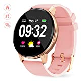 Smart Watch for Women with Heart Rate Monitor Sleep Monitor IP67 Waterproof Full