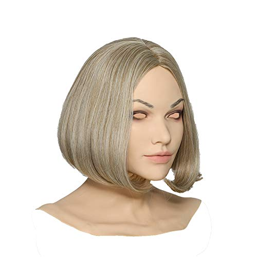 Silicone Mask Realistic Female Face Mask Handmade for Crossdresser Transvestite Disguise Cosplay
