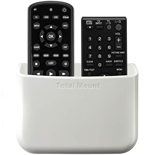 TotalMount Universal Remote Holder - Large (White)