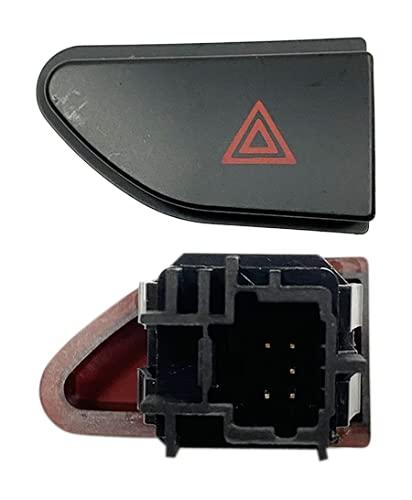 3RG INDUSTRIAL | Boton De Warning | Piezas para Coche Recambios Motor y Otras Partes de Vehículo | Compatible con los Modelos de Coche y Moto indicados más Abajo.