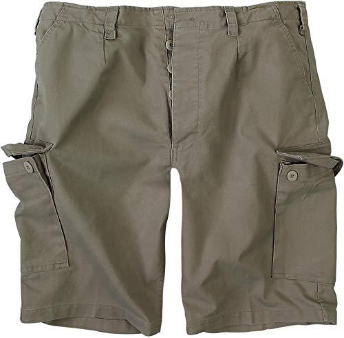 normani BW Herren Bermuda Shorts aus robustem Moleskingewebe Farbe Oliv Größe XL