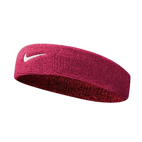 Nike UnisexErwachsene Swoosh Headband/Stirnband, Rosa (Vivid pink/white), Einheitsgröße
