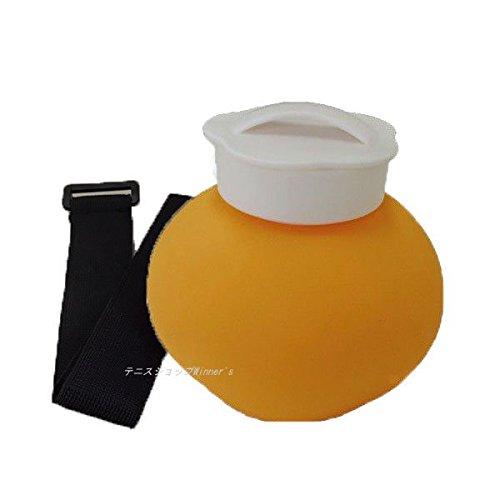 TENNIC(テニック) シリコン氷のう ベルト セット アイシング オレンジ GP-511-OR-SET