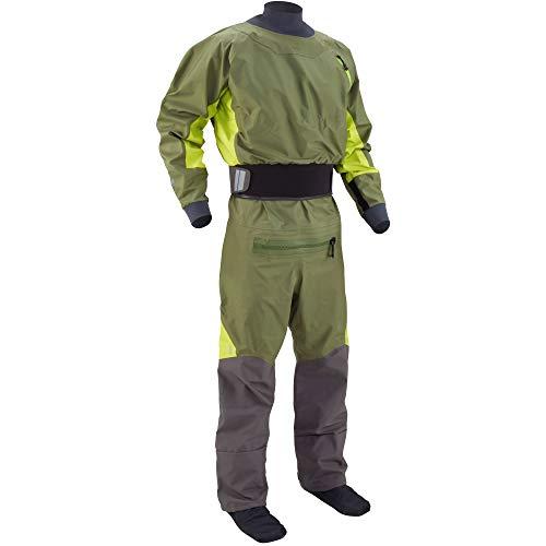 NRS Men's Pivot Drysuit-Olive-L