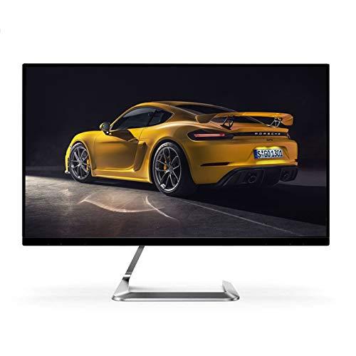 YILANJUN Monitor de Juegos Oficina 27', 1920 × 1080 (FHD 1080P), 4 ms (GTG), Panel Colorido AH-IPS, 127% sRGB, 178 °, DP, Interfaz HDMI, Giratorio de -5 ° a 23 °