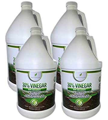 Natural Elements 30% Vinegar | (4) 1 Gallon Pack | Home and Garden Vinegar