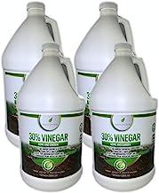 Natural Elements 30% Vinegar | (4) 1 Gallon Pack | Home and Garden Vinegar