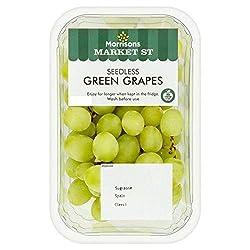 Morrisons Green Grapes, 500 g