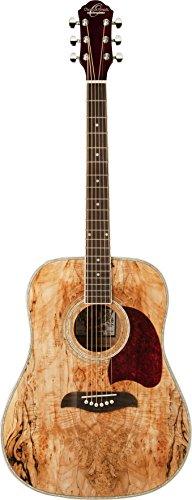 Oscar Schmidt OG2SM Dreadnought Acoustic Guitar - Spalted Maple