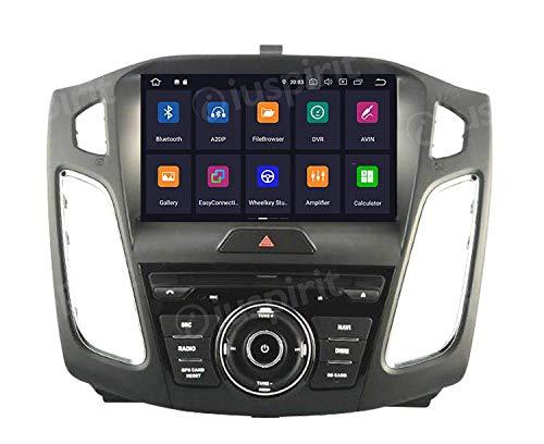 ANDROID 10 GPS DVD USB SD WI-FI DAB+ TPMS Bluetooth autoradio navigatore Ford Focus 2015 2016 2017